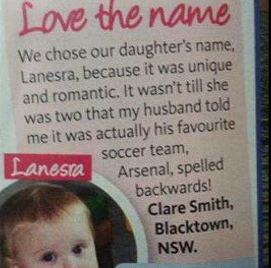 lapse nimi