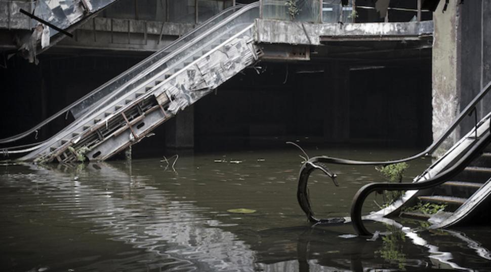 Üleujutatud-ostukeskus