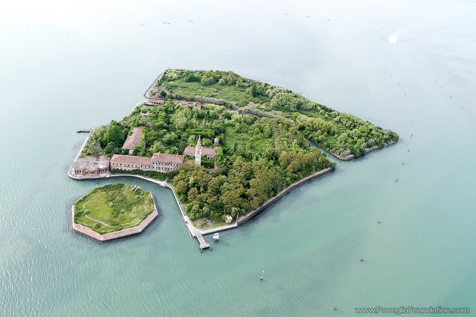Poveglia-saar-Itaalia