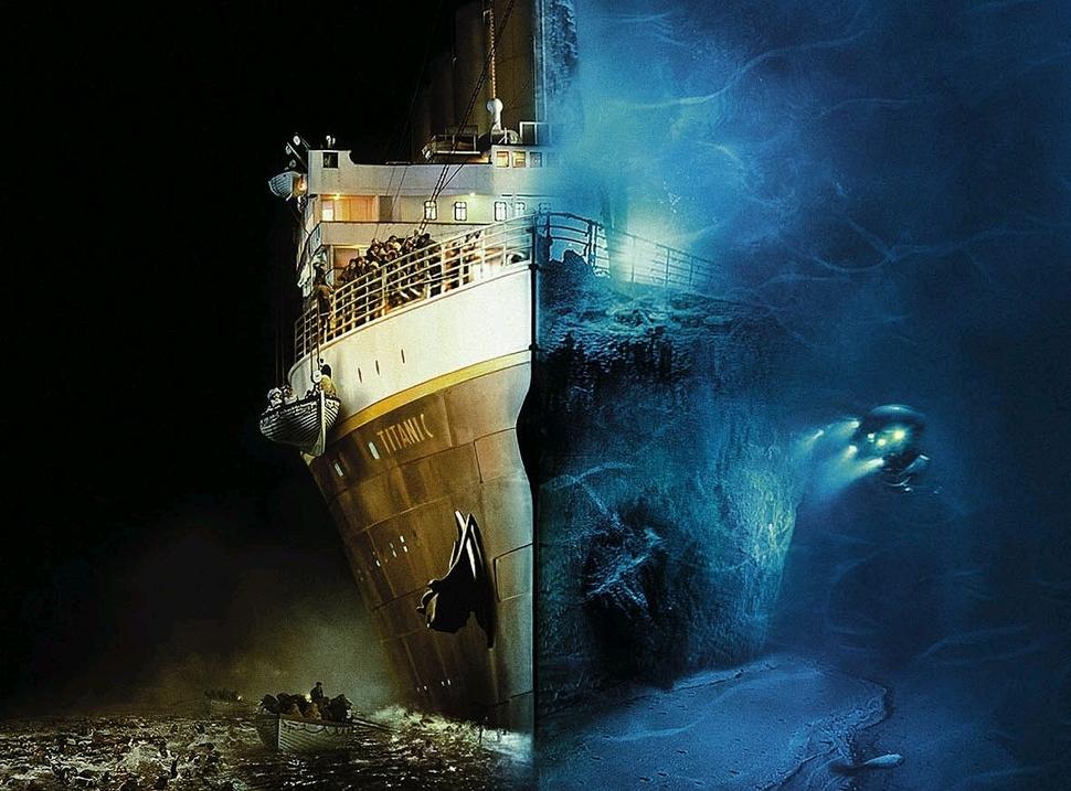 Titanicu-Vrakk