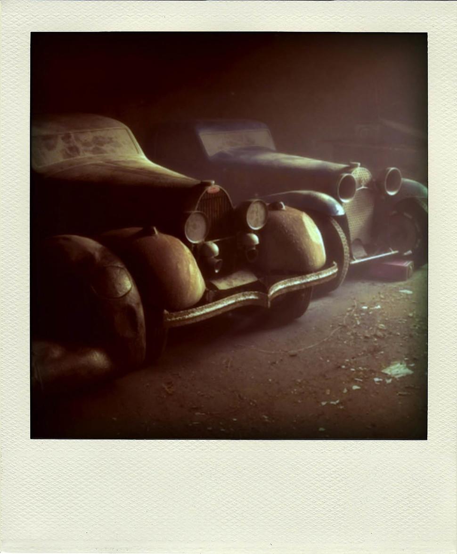 Unustatud-Bugattid